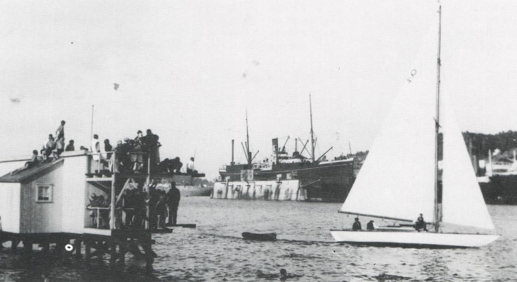 Bilde av 1932 - Eskadreseilas