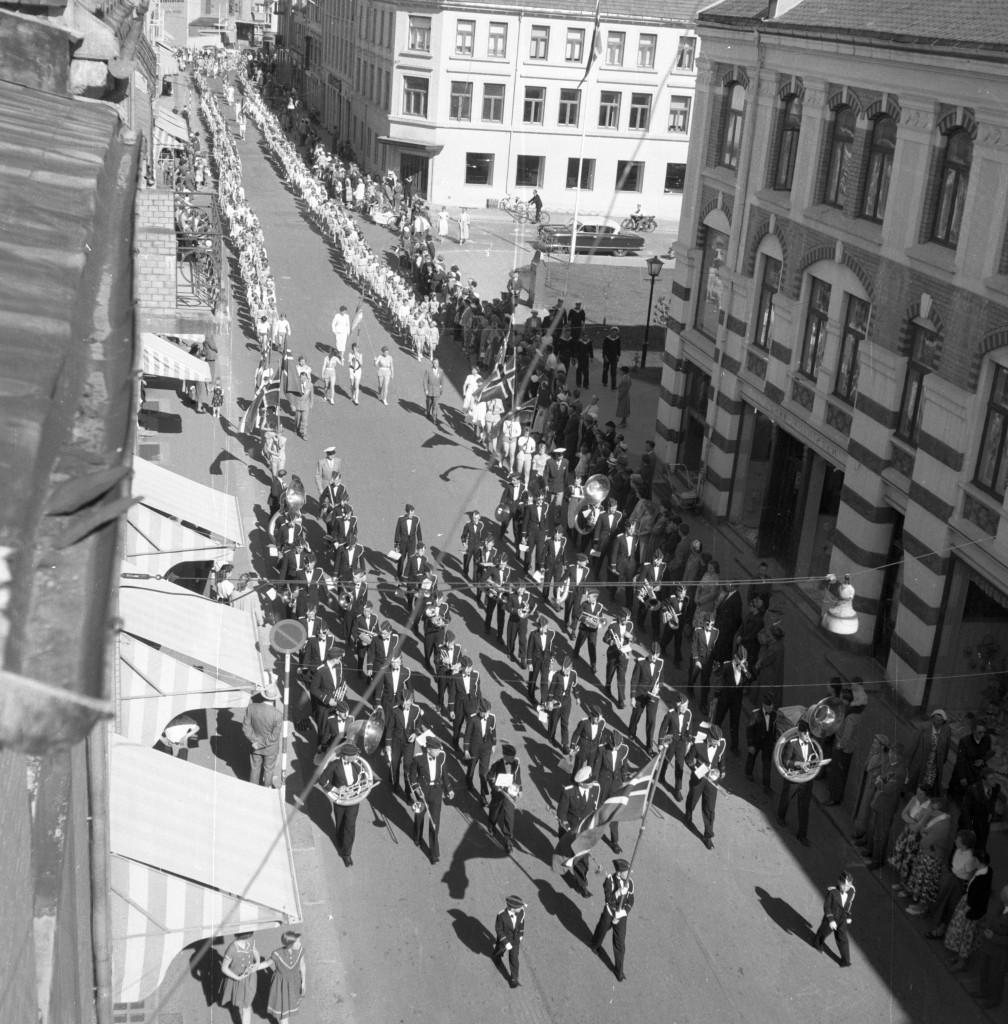 Bilde av 40-års jubileum i 1955