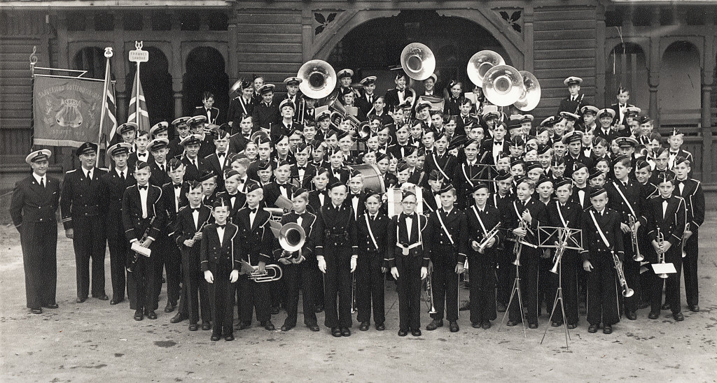 Bilde av Sammen med Framnæs Musikkorps