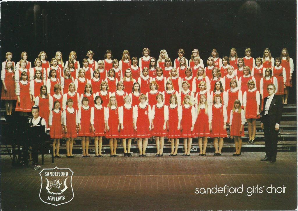 Bilde av Sandefjord girl's choir