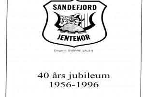 Bilde av 40-års jubileum 1956 -1996