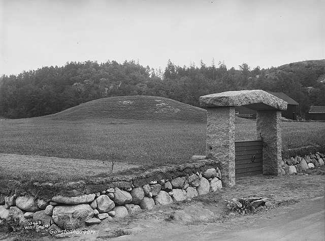 Bilde av Gogstadhaugen  - ved inngangen