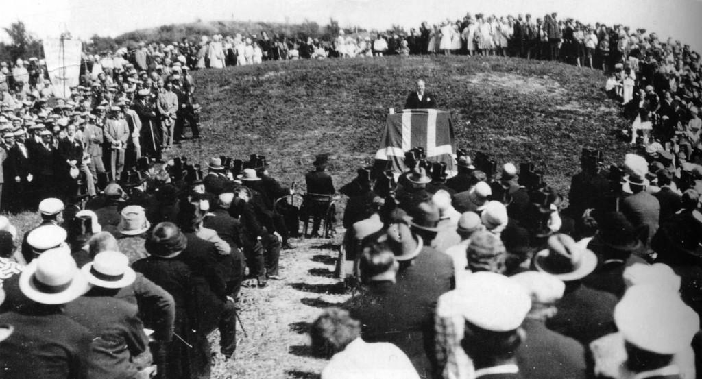 Bilde av Innvielsesfesten 29. juli 1929