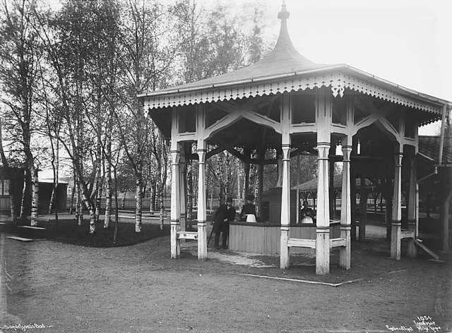 Bilde av Paviljongen over svovelvannsbrønnen