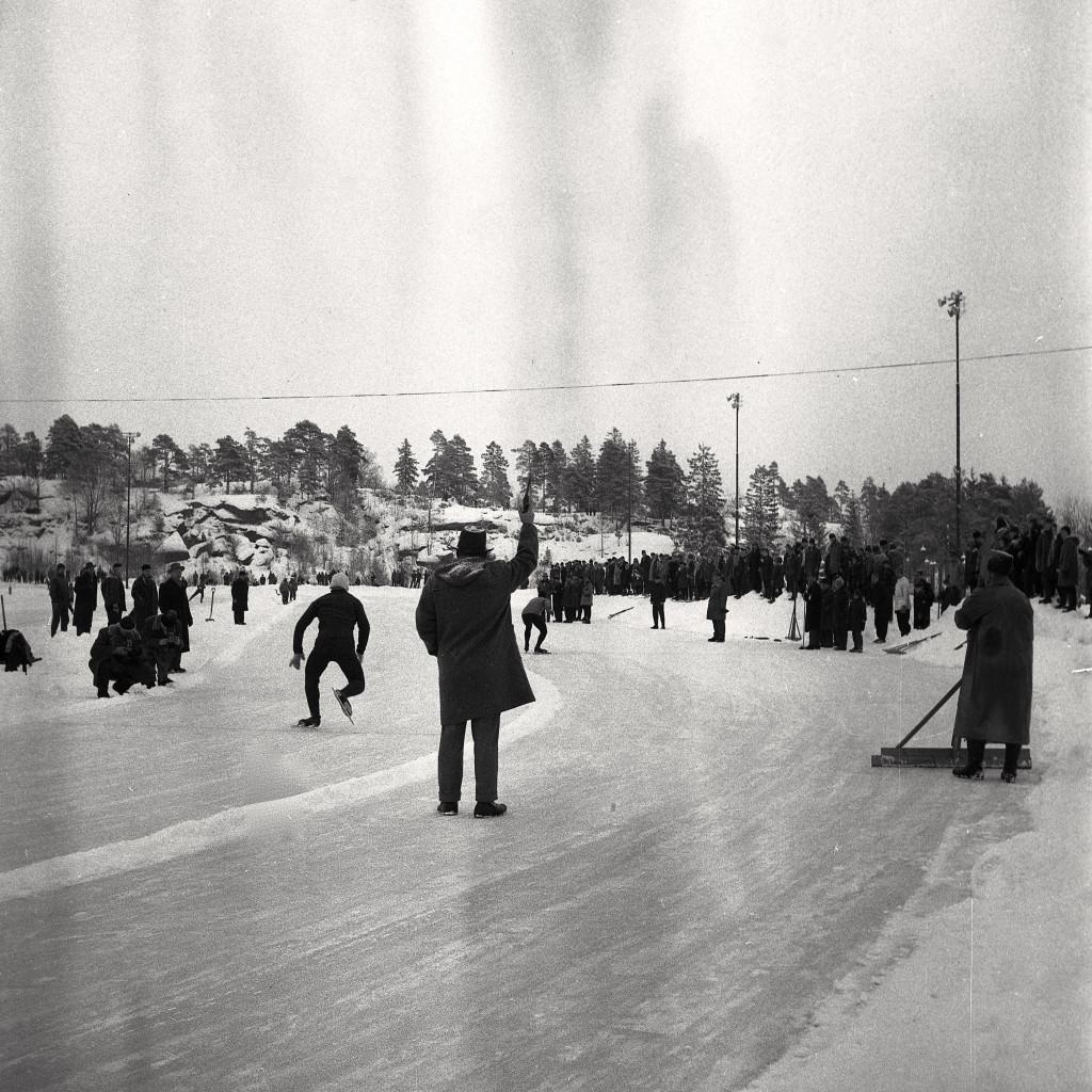 Bilde av NM på skøyter i 1961