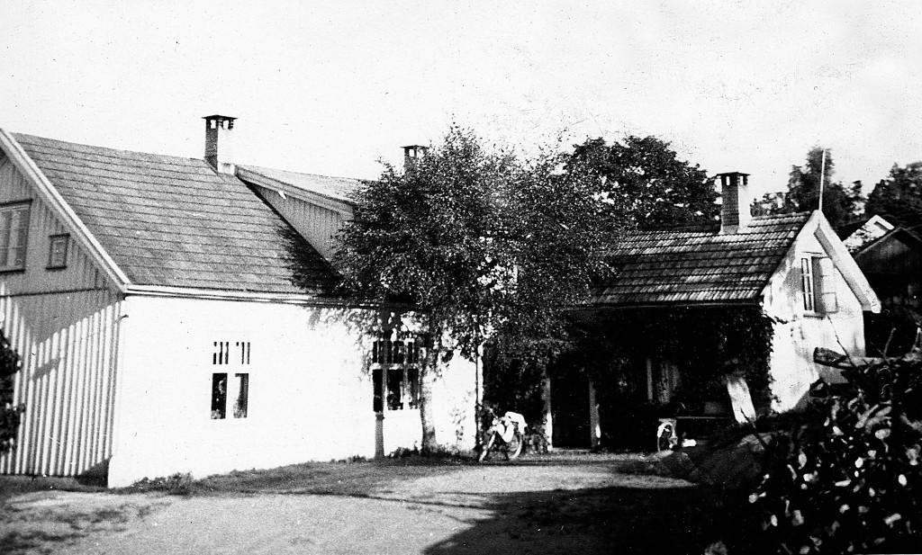 Bilde av Vaggestad vestre. Våningshustet