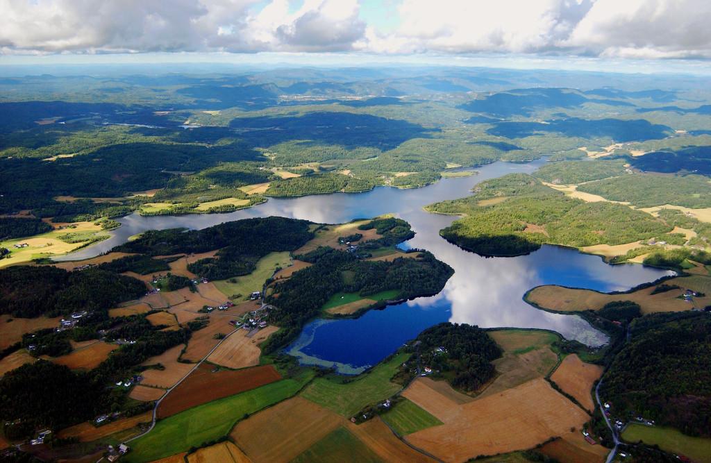 Bilde av Goksjø - luftfoto.