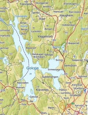 Bilde av Goksjø - Kart