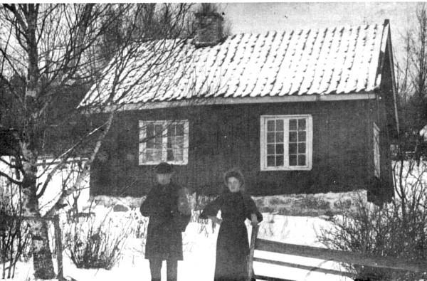 Bilde av Gamlestua på Tørrestad.