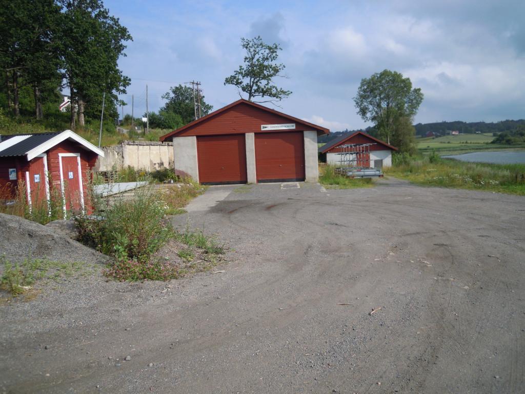 Bilde av Vannverkstomta ved Goksjø.