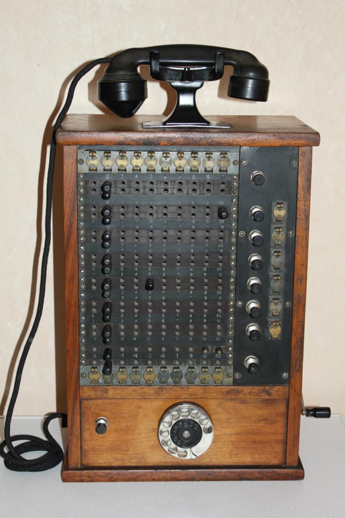 Bilde av TELEFONSENTRAL FRA CA: 1930