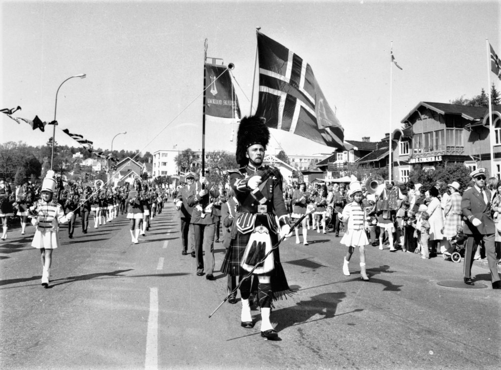 Bilde av Haukerød skolekorps