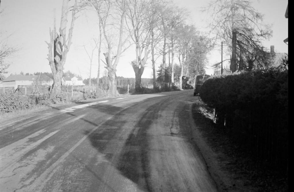 Bilde av Trafikkuhell ved Hunstokk