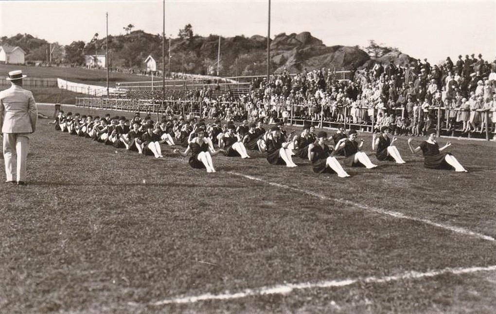Bilde av GAMLE STADION - TURNSTEVNE 1925