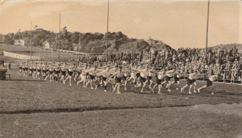 Bilde av GAMLE STAION - TURNSTEVNE 1925