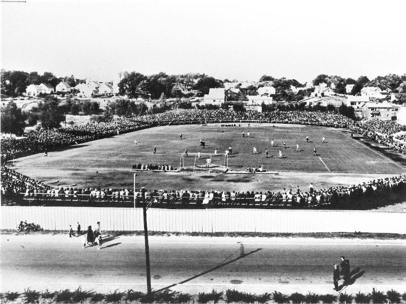 Bilde av GAMLE STADION - FOTBALLKAMP 1960-TALLET