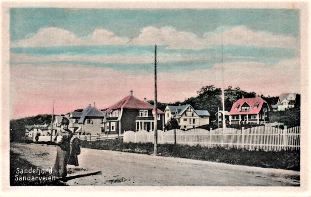 Bilde av SANDARVEIEN - FRA ØST MOT VEST