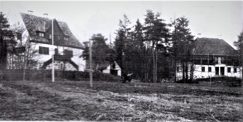 Bilde av SKIPSREDER MOE OG DIREKTØR HOLM-HANSENS VILLAER