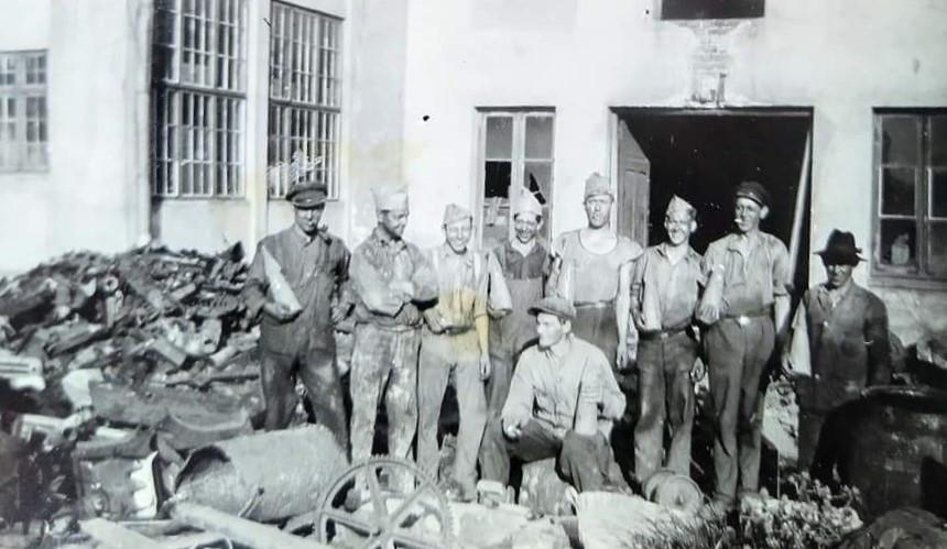 Bilde av Støperiarbeidere