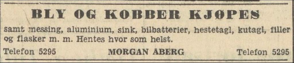 Bilde av MORGAN ÅBERG SKRAPHANDEL