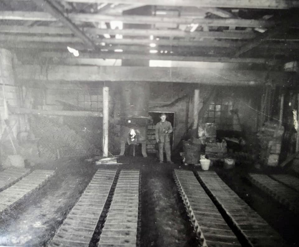 Bilde av Produksjonslokalet i støperiet