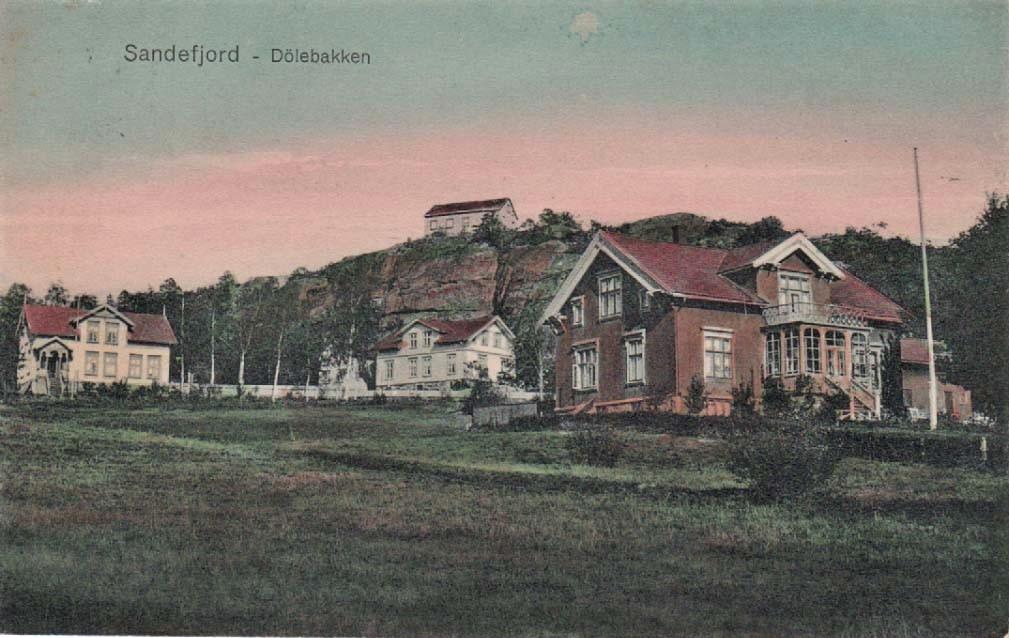Bilde av DØLEBAKKEN - BYGNINGER