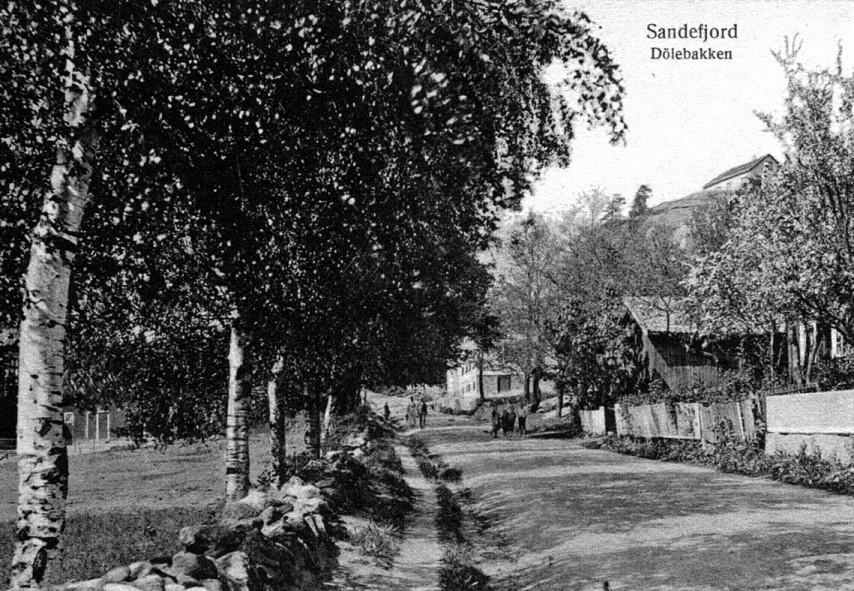 Bilde av DØLEBAKKEN - SETT FRA SYD