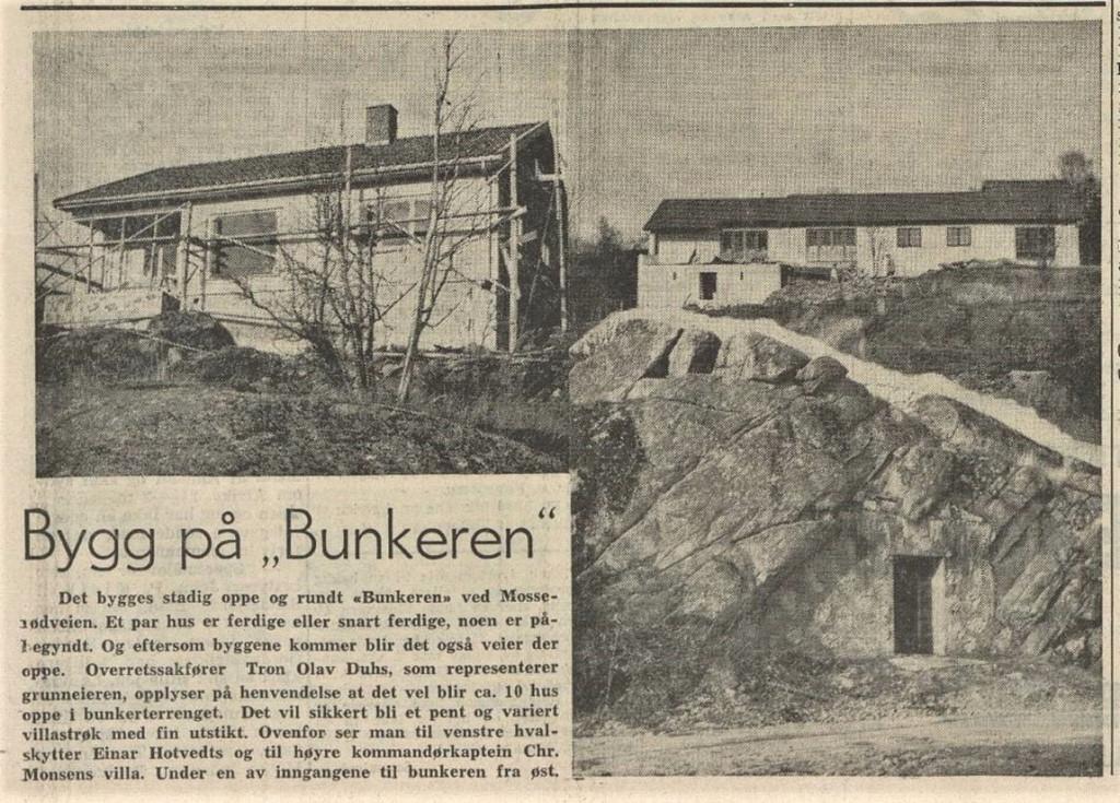 Bilde av ØVRE MOSSERØD - TYSKE FORSVARSVERKER
