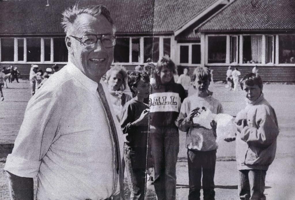 Bilde av MOSSERØD SKOLE - REKTOR OG LÆRERE