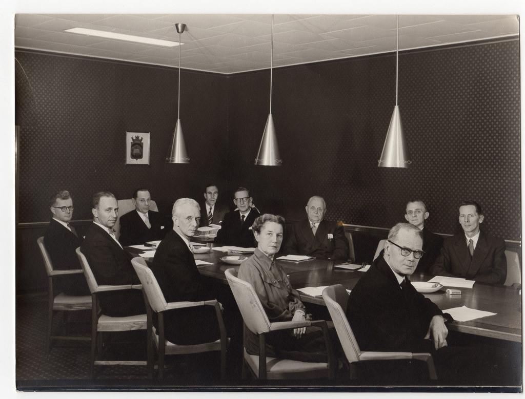 Bilde av Sandefjord Formannskap 1956-59