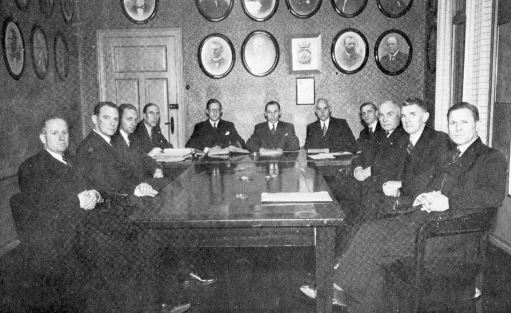 Bilde av Sandefjord Formannskap 1945