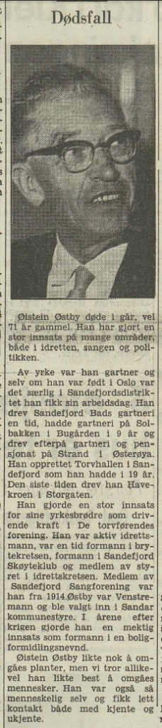 Bilde av Øistein Bøe død - drev Havekroen
