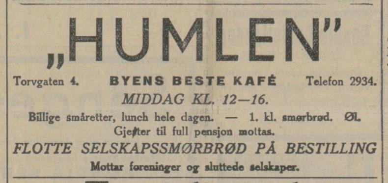 Bilde av Annonse - 1935
