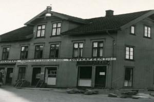 Bilde av Peter Grøns gate med Torvkafeen