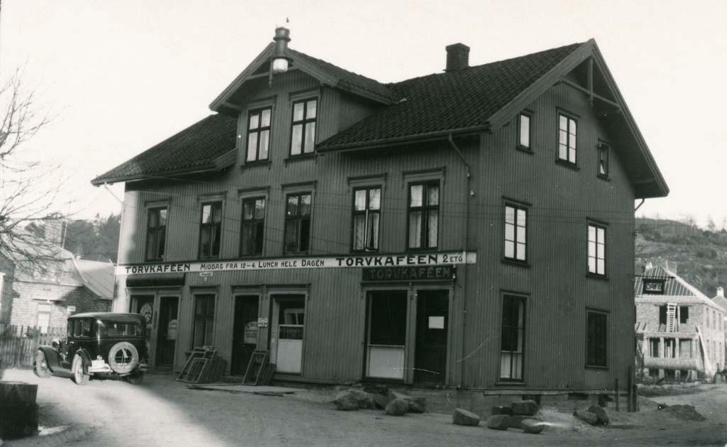 Bilde av Torvkafeen/Peter Grøns gate