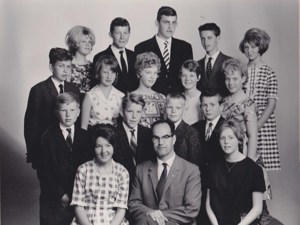 Bilde av 1962 - klasse 7B