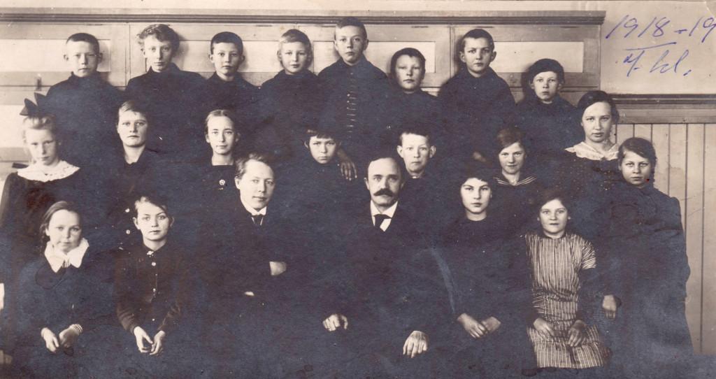 Bilde av 1918 - 7. klasse