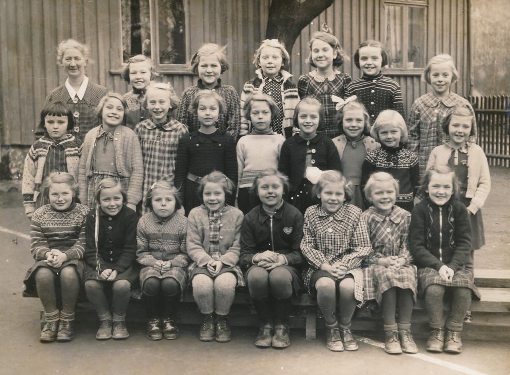 Bilde av 1938 - 2. klasse