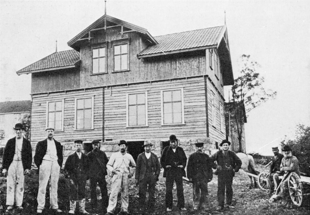 Bilde av Skolebygning fra 1900
