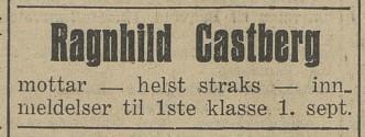 Bilde av Annonse 1934