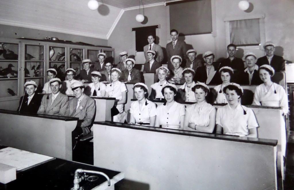 Bilde av Klasse 3 A - 1953