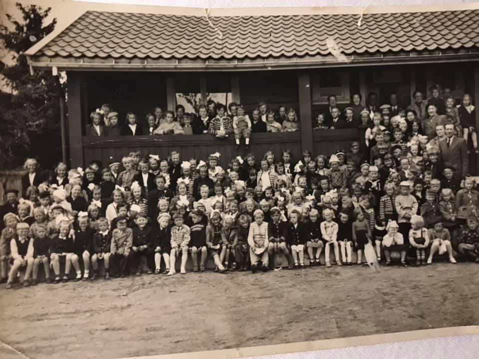 Bilde av Søndagsskole på Haukerød Badstue