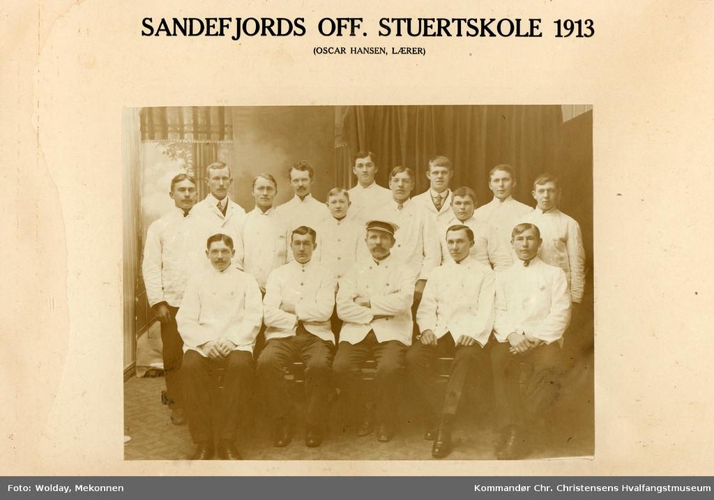 Bilde av Stuertskolen 1913