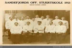 Bilde av Sandefjord off. stuertskole