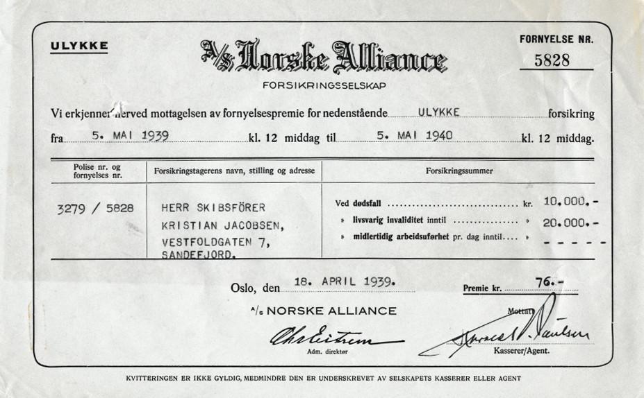 Bilde av Ulykkesforsikring i Norske Alliance
