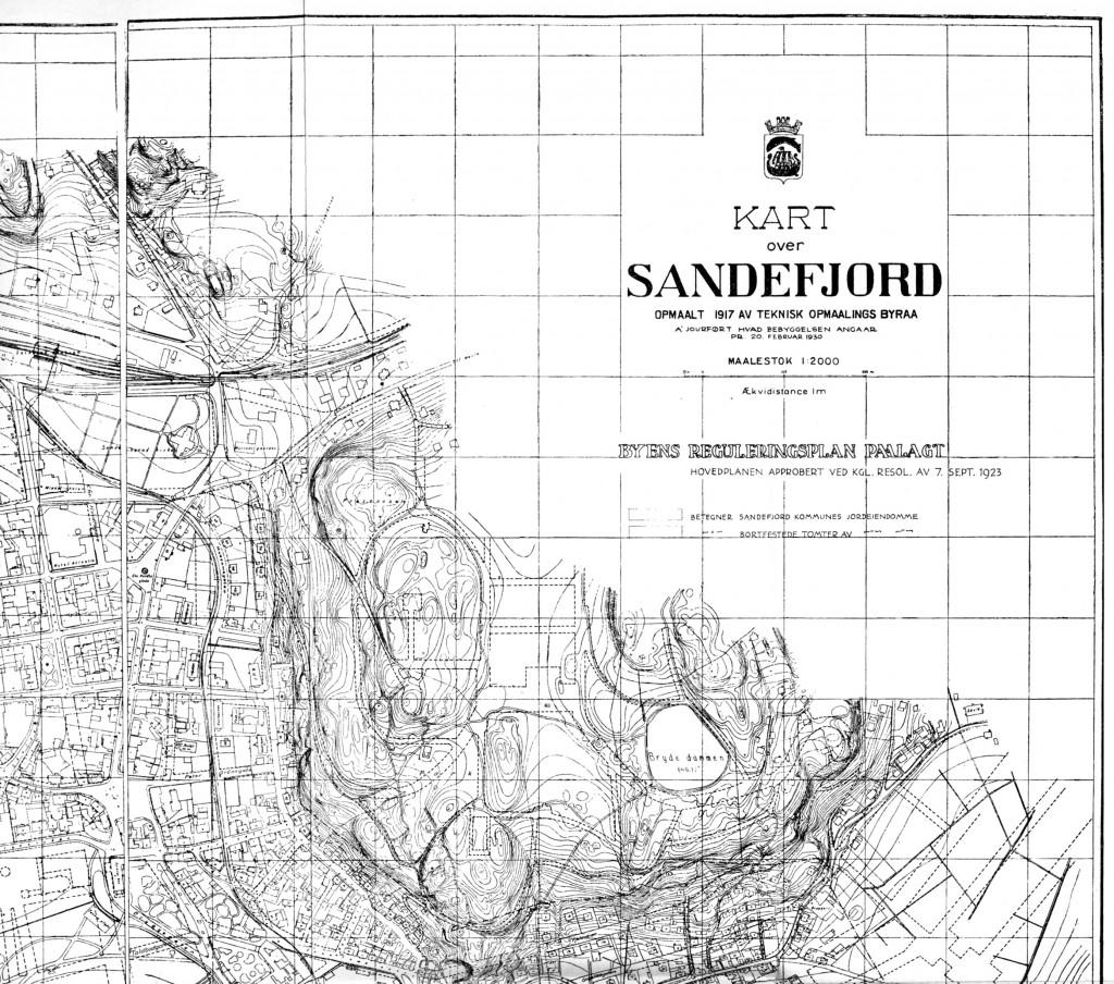 Bilde av Sandefjord 1917, del 1