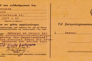 Bilde av Søknad om sykkelgummi