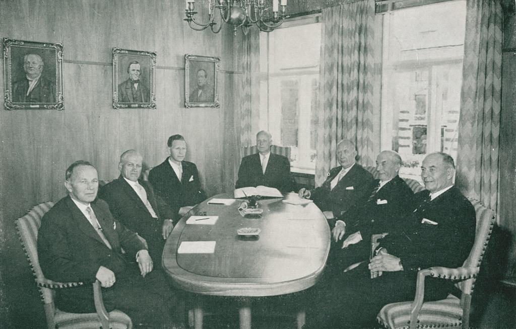 Bilde av Styremøte 1960