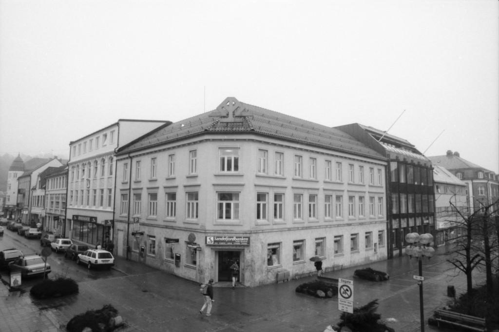 Bilde av Da banken var stor i volum og het Sandefjordbanken