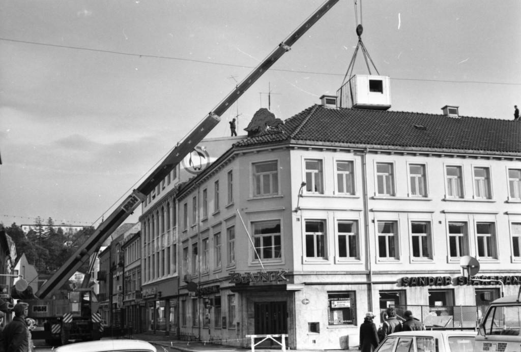 Bilde av Stor installasjon i Sandarbanken